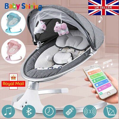 £69.96 • Buy Baby Bouncer Swing Chair Cradle Rocker Seat Bouncy Rocking With Music And Toys