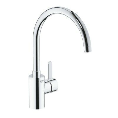 GROHE Eurosmart Cosmo Kitchen Sink Mixer Tap Single Lever High Spout 32843000  • 99.95£