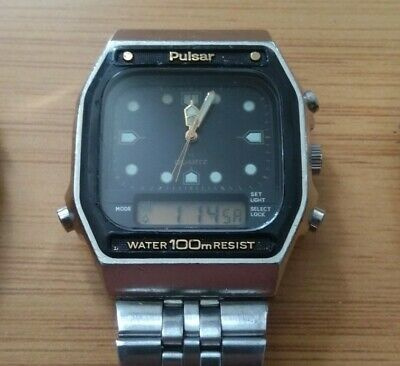 $ CDN100 • Buy (Lot Of 3) Rare Vintage Digital Pulsar Seiko, Disney Mickey Mouse And Other.