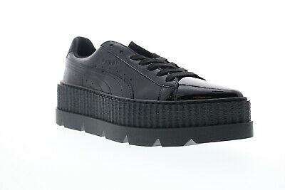 AU25.59 • Buy Puma Pointy Creeper Patent Wns 36627001 Womens Black Low Top Sneakers Shoes