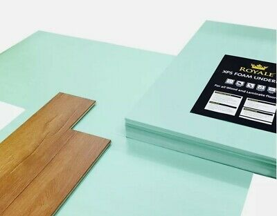 XPS Underlay- Laminate Or Wood Flooring - 5mm - Like Fibreboard - Insulation • 18.99£