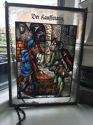 Leaded Window Stained Glass  • 48£