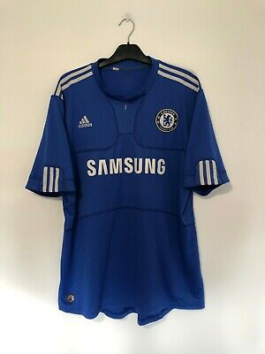 Chelsea Home Football Shirt Jersey 2009/10 Extra Large XL • 20.95£