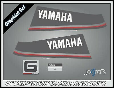 AU50.52 • Buy Yamaha 6hp Outboard Engine Decals Kit - Stickers