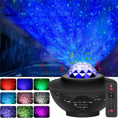 Ultra Bright Galaxy Star Night Projector Lamp Starry Night Light LED Ocean Wave • 22.89£