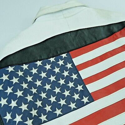 $ CDN100 • Buy Vintage Micheal Hoban  Where Am I  USA Leather Jacket Size Large