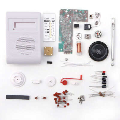 DIY CF210SP AM/ FM Stereo Radio Assemble Board Kit For Electronic Learner Newest • 6.03£