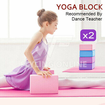 AU13.05 • Buy VIVVA Fitness Yoga Block Brick Foaming Home Exercise Practice Gym Sport Tool