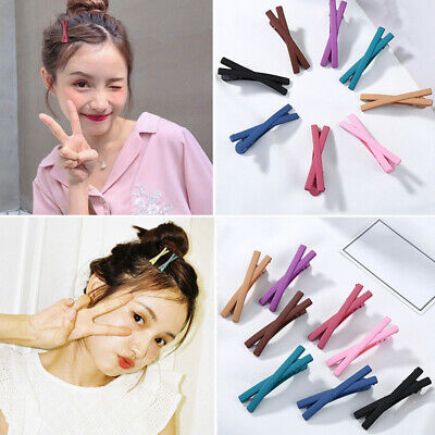 $1.19 • Buy Matte Candy Color Bowknot Hairpins Hair Clip Barrettes Fashion Hair Accessories