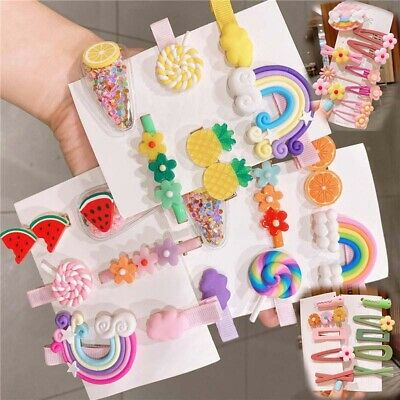 $ CDN3.92 • Buy Hair Clips Hair Accessories For Girls Bows Barrettes Snap Kids For Toddlers Cute