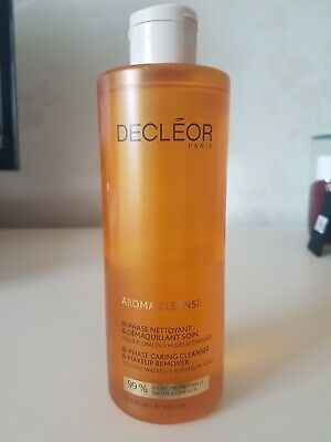 Decleor Bi Phase Cleanser And Makeup Remover 400ml Supersize Brand New Genuine  • 18£