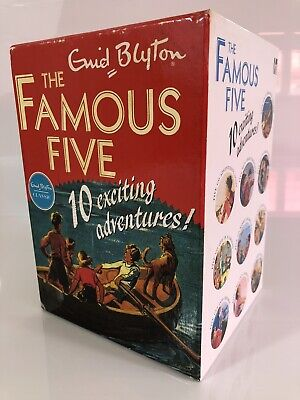 Famous Five Classic Collection 10 Story Book Set By Enid Blyton • 29.99£