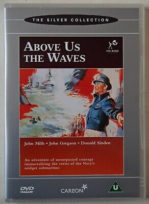 £3.99 • Buy Above Us The Waves / John Mills 1955  British Ww 2 Film The Rank Collection R2