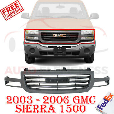 $149.59 • Buy Front Grille Textured Shell & Insert For 2003 - 2006 GMC Sierra 1500