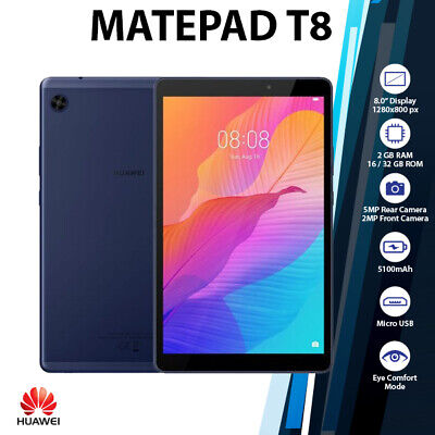 AU239 • Buy (WiFi+LTE)Huawei MatePad T8 8  Blue 2GB+32GB Octa Core 5100mAh Android PC Tablet