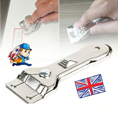 Window Glass & Ceramic Hob Scraper Knife Cleaner With Blade Oven Cooker Cleaner • 4.75£