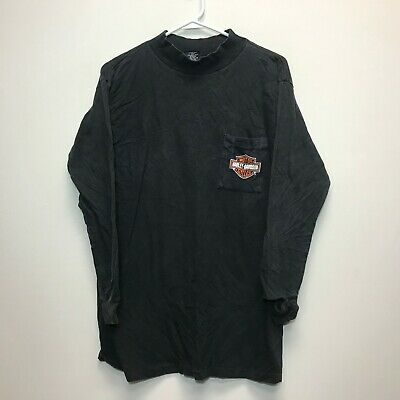 $ CDN60 • Buy VTG 90s Harley-Davidson Fun Wear Forged Steel L/S Pocket T Shirt Sz. L