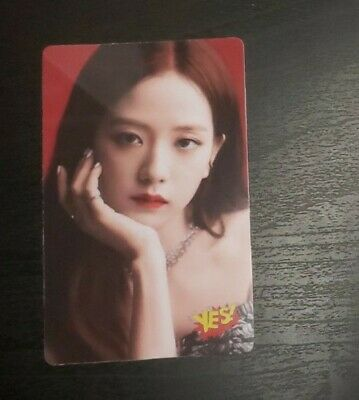 $ CDN18.15 • Buy Blackpink Jisoo Kill This Love JP Ver. Sticker Card YES! Official (Unofficial)
