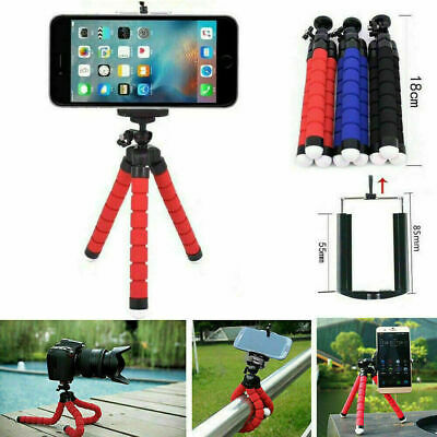 Universal Mini Mobile Phone Holder Tripod Stand Grip For IPhone Camera Samsung • 2.99£