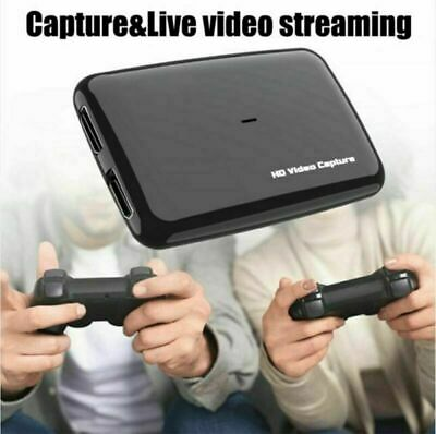 £46.99 • Buy 4K HDMI Video Capture Card USB3.0 1080P HD60 Game Recorder For PS4,XBox One,WiiU
