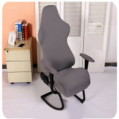 AU27.32 • Buy Spandex Chair Covers Computer Seats Gaming Elastic Office Armchairs Protector