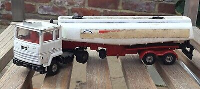 Vintage Corgi Major Ford  Truck - ESSO Tanker - No 1157 • 25£