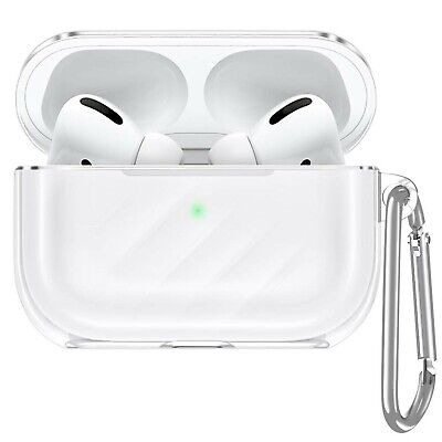 $ CDN42.81 • Buy ESR Upgrade Clear Carrying Case For AirPods Pro Case 2019, Air Ripple Protect...