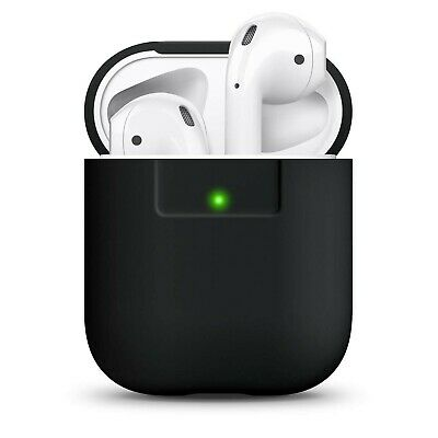 $ CDN35.35 • Buy Elago Silicone Case Designed For Apple AirPods Case 1 And 2 [Black] Black
