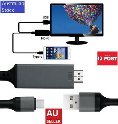 AU16.99 • Buy Phone To HDMI Cable / USB-C To HDMI / Lightning To HDMI