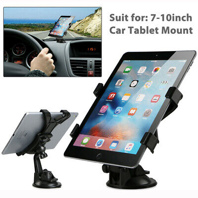 360° 7-10inch Tablet Car Windshield Instrument Bracket Mount Holder For IPad GPS • 14.50£