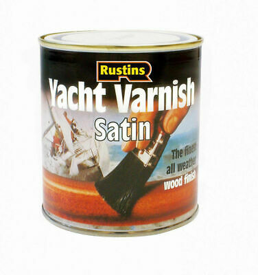 Rustins  Yacht Varnish For Wood Timber Door Window Frame Cladding • 19.99£
