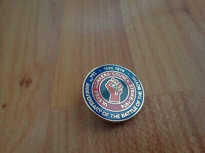 £9.99 • Buy Ulster Workers Council Strike 1974 Pin Badge Rangers Linfield Ulster Loyalists