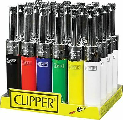£2.69 • Buy Clipper Mini Tube Lighter Refillable Safety Cooking BBQ Camping Oven Candle