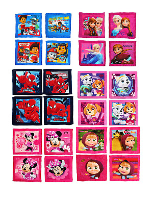 Disney, Paw Patrol Character Magic Face Towel Cloth Pack Of 4 Towels Gift  • 10.50£