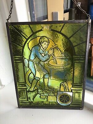 Leaded Window Stained Glass • 55£