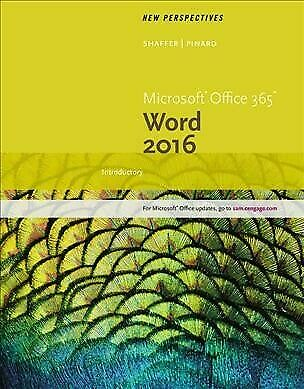 AU62.31 • Buy New Perspectives Microsoft Office 365 & Word 2016 : Introductory, Paperback B...