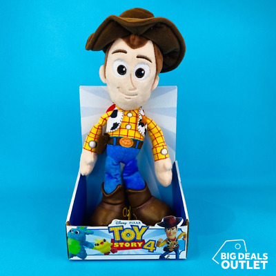 "Toy Story 4 Woody Soft Action Figure 10"" Disney • 11.99£"