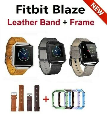 $ CDN16.59 • Buy Fitbit Blaze Accessory Replacement Leather Wrist Band & Frame
