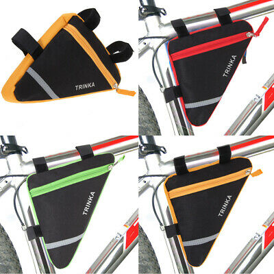 AU8.19 • Buy Waterproof Triangle Cycling Bike Bicycle Front Tube Frame Pouch Saddle Bag AU
