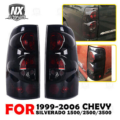 $48.99 • Buy For 99-06 Chevy Silverado 99-03 GMC Sierra Tail Lights Replacement Assembly Pair