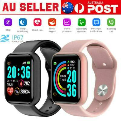 AU18.99 • Buy Women Men Waterproof Bluetooth Smart Watch Phone Mate For IPhone Android IOS AU