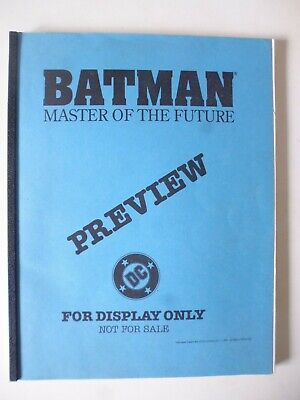 Batman : Master Of The Future - Display Preview.  Very Rare • 49.99£