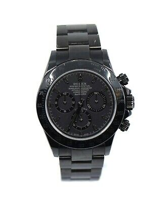 $ CDN40209.82 • Buy Rolex Daytona Bamford Black Stainless Steel Watch 116520