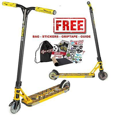 £224.95 • Buy Madd Gear Pro MGP MGX T1 Team Complete Childrens IHC Stunt Scooter - Gold