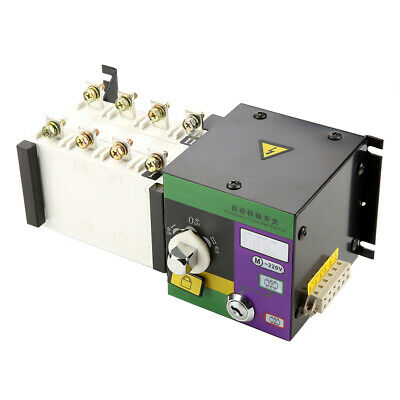 £100.54 • Buy 400V Isolation Type Dual Power Automatic Transfer Switch ATS 100A/4P NEW