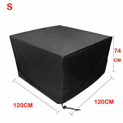 Heavy Duty Garden Patio Furniture Table Cover For Rattan Table Cube Outdoor Set • 13.59£