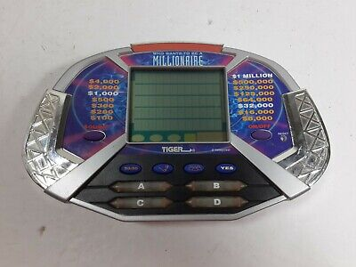 £5.64 • Buy Who Wants To Be A Millionaire Hand Held Electronic Game & Cartridge By TIGER
