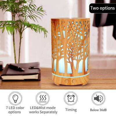 AU35.99 • Buy Air Humidifier Purifier Essential Aroma LED Oil Diffuser Ultrasonic Aromatherapy