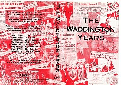 Stoke City The Waddington Years Dvd • 10£