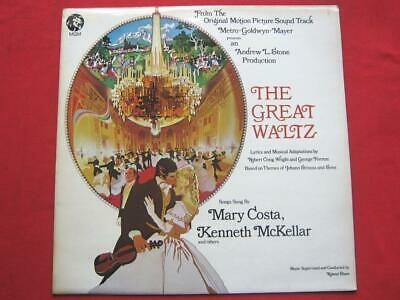 Various The Great Waltz LP MGM 2315130 EX/EX 1972 With Kenneth McKellar & Mary C • 10£